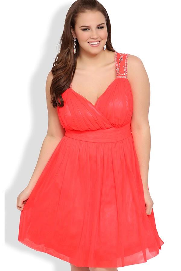 vestidos de fiesta para gorditas | Moda
