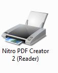 Impresora PDF Nitro PDF Creator