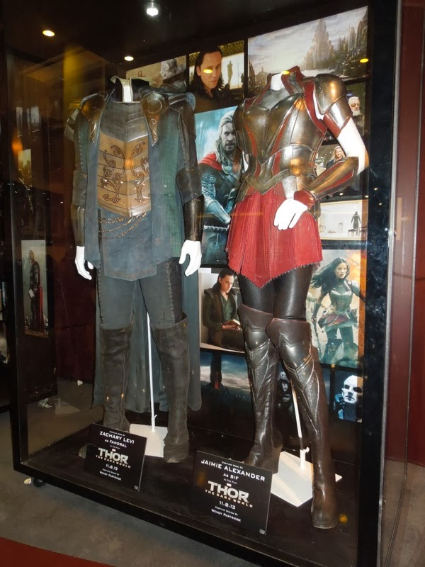 Fandral Lady Sif Thor Dark World film costumes