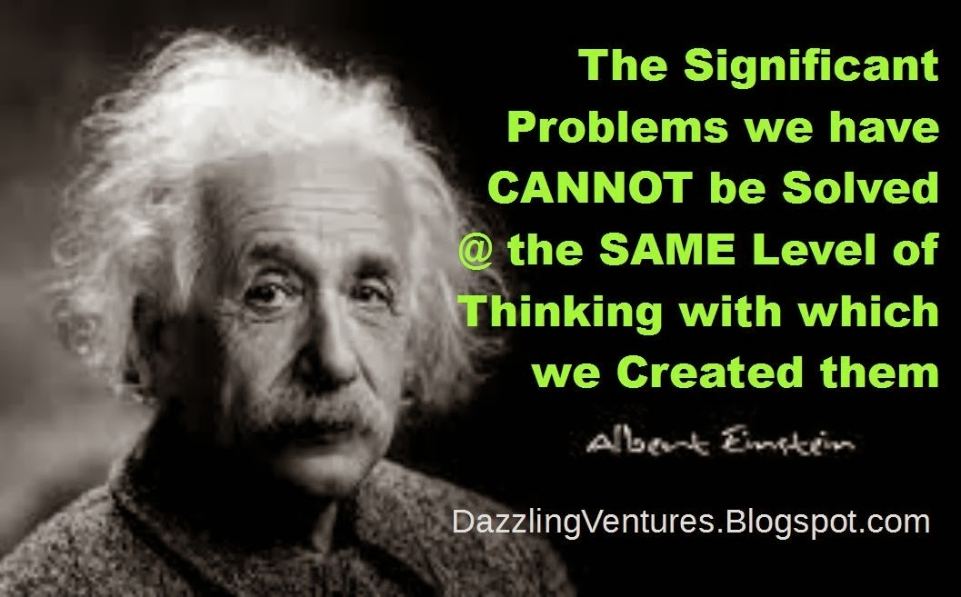 http://dazzlingventures.blogspot.com - 3 Important lessons from Albert Einsteins's Quotes on Education