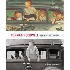 Rockwell photo and the painting it inspired.