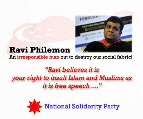 Ravi Philemon NSP Charlie Hebdo