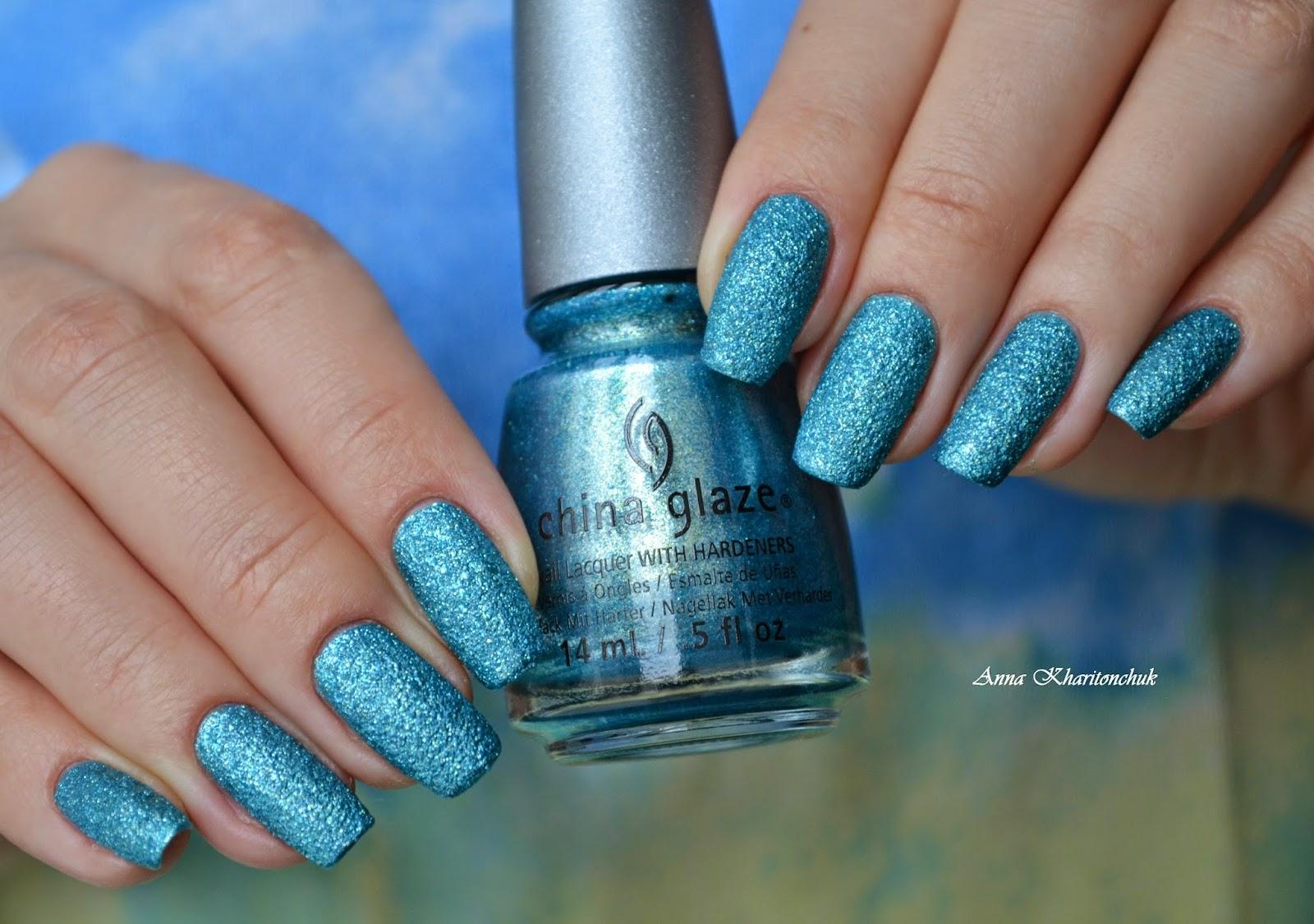 Сhina Glaze Seahorsin' Around и стемпинг с Born Pretty Store BP-10