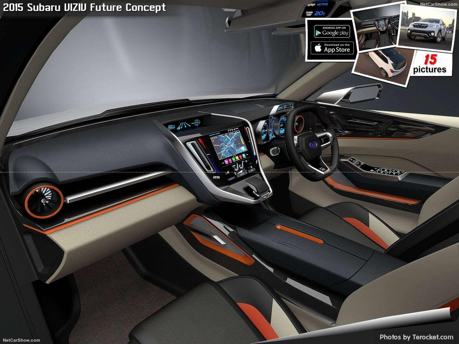 Hình ảnh xe ô tô Subaru VIZIV Future Concept 2015 & nội ngoại thất