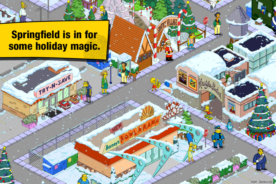screenshot 1 The Simpsons Tapped Out