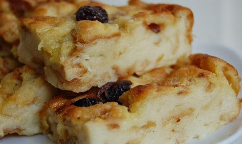 Resep Cara Membuat Puding Roti Tawar Paling Mudah | Resep Masakan