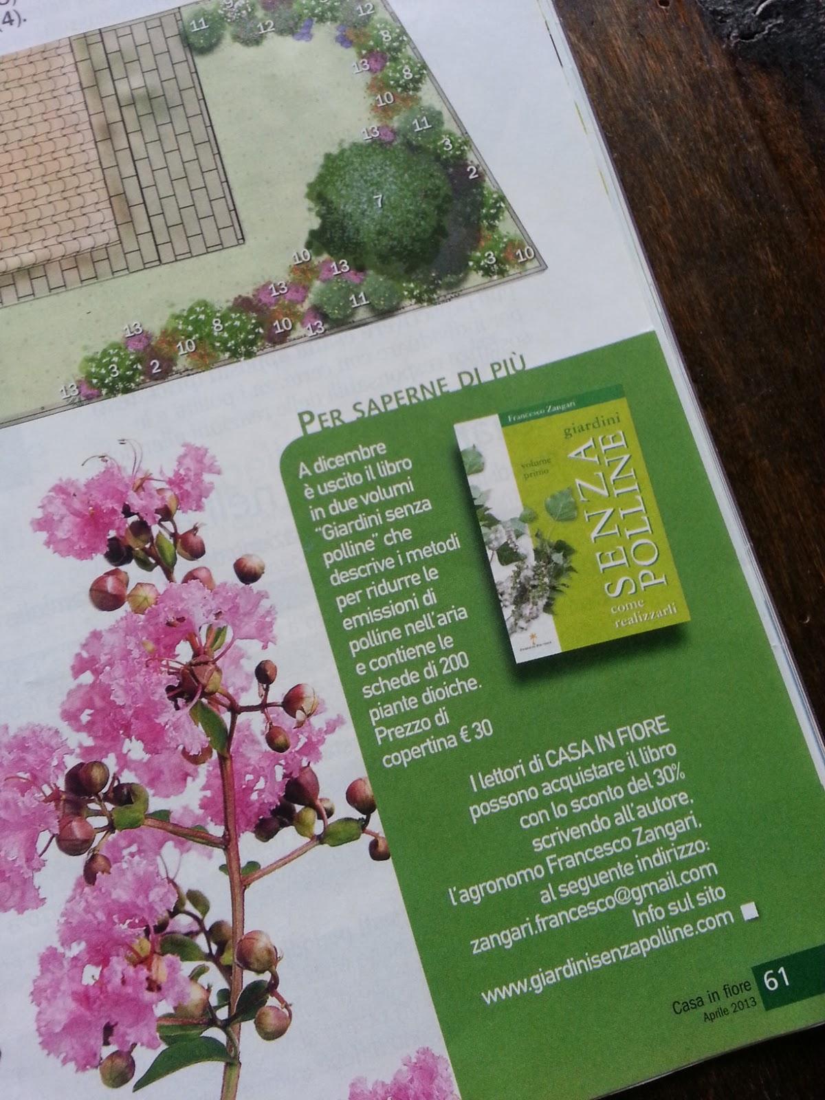 Un giardino antiallergie su Casa in fiore di aprile - BLOSSOM ZINE ...