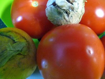 Zutaten für die Tomatensoße