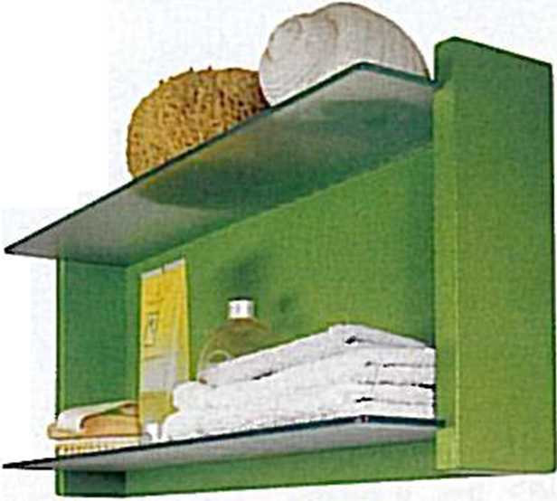 Estantes Para El Baño:Carpintería: Espejo Para el Baño con Estantes