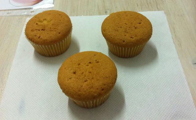 cupcakes sin decorar