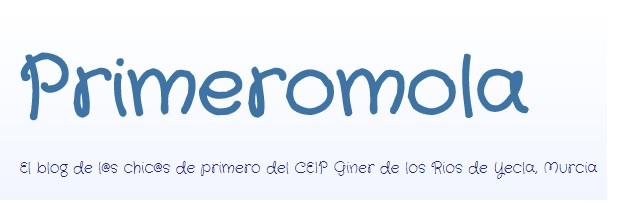 Blog PRIMEROMOLA