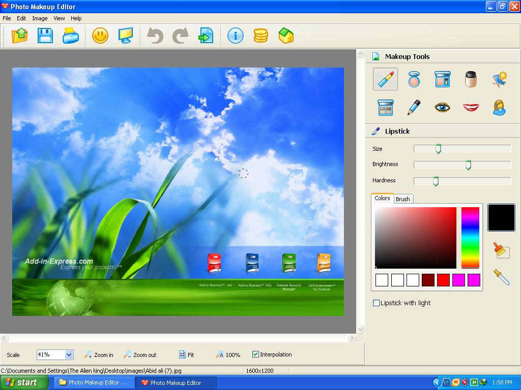 Photo makeup editor 1.65 software serial