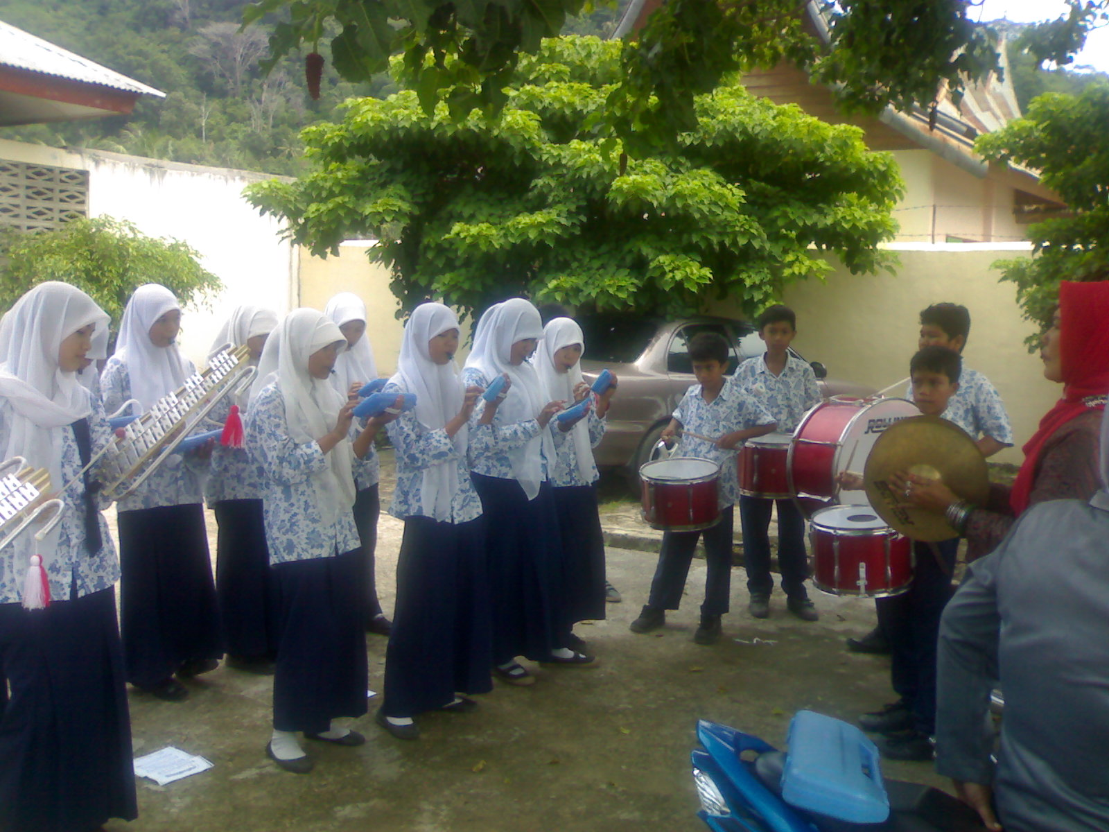 Latihan Drum Band