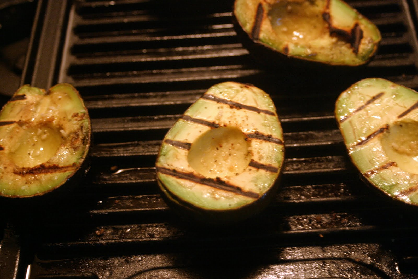 grilled avocados adapted from grilled avocado with corn relish ...