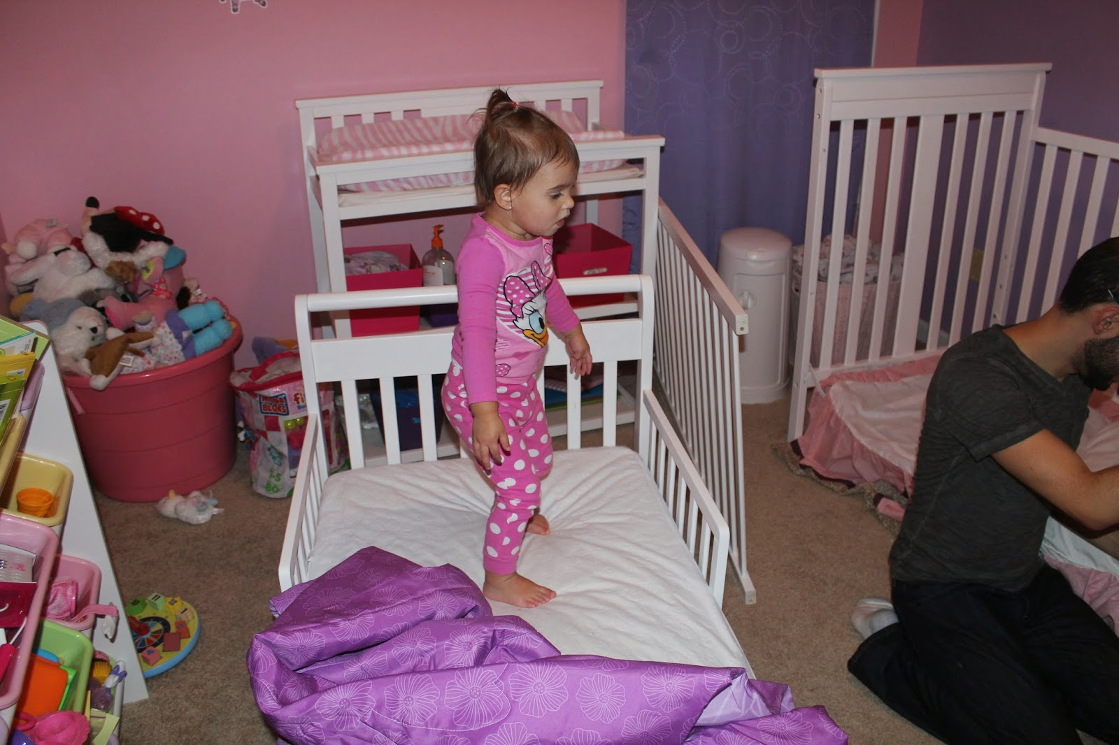 Still Lucky Making The Switch Toddler Bed Transition