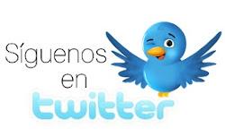Con más de 700 followers, estamos en Twitter: