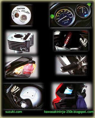 Suzuki Hayate Features