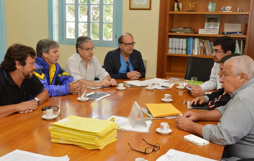 Representantes da Fecierj e do Instituto Faça Esporte e Cultura se reuniram nesta quinta, 27, com secretários do governo municipal para acertar detalhes do evento Copa Rio de Janeiro de Ciclismo