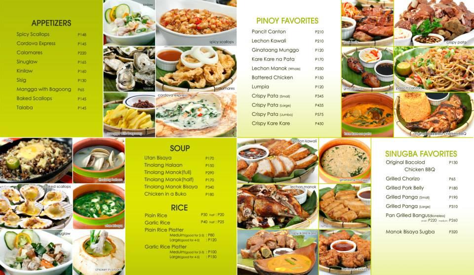 A Hearty Meal at Lantaw Floating Native Restaurant Pinay  : lantaw2Bmenu from www.pinayramblings.com size 960 x 558 jpeg 101kB