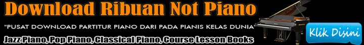 Pusat Download Not Piano Jazz, POP, Classic, Belajar Piano