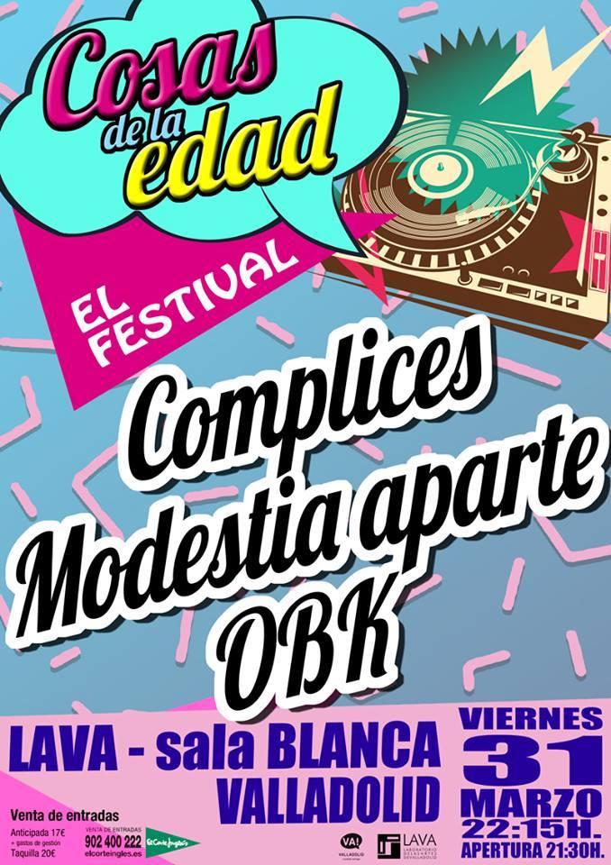 """Festival """"Cosas de la Edad"""""""