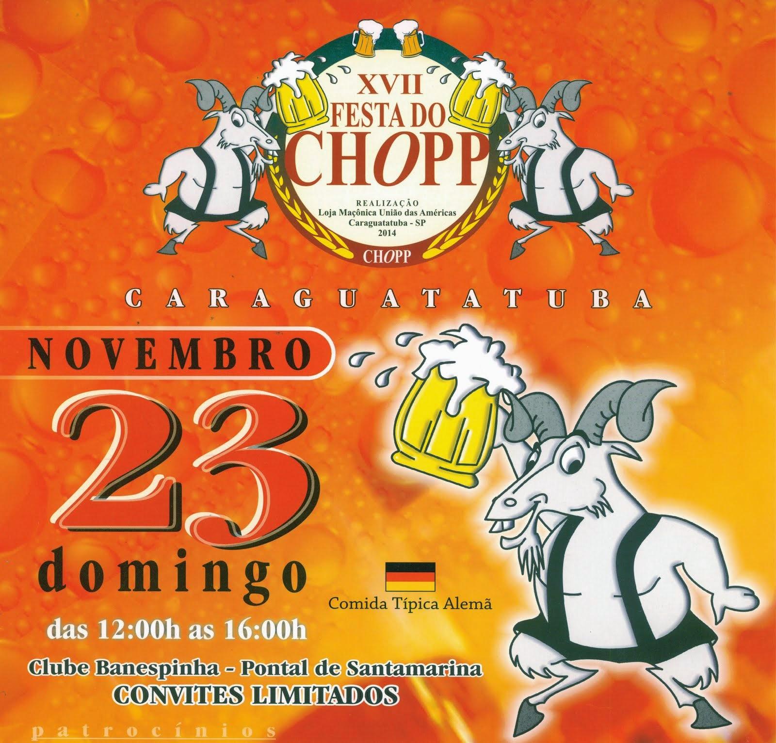 XVII FESTA DO CHOPP