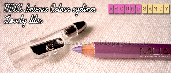MUA - Intense Colour Eyeliners lovely lilac review swatches opinión