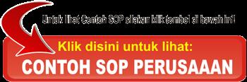 Contoh SOP Perusahaan Logistic yang lengkap