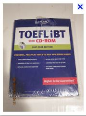 foto sampul Kaplan TOEFL iBT with CD-ROM (Fourth Edition)