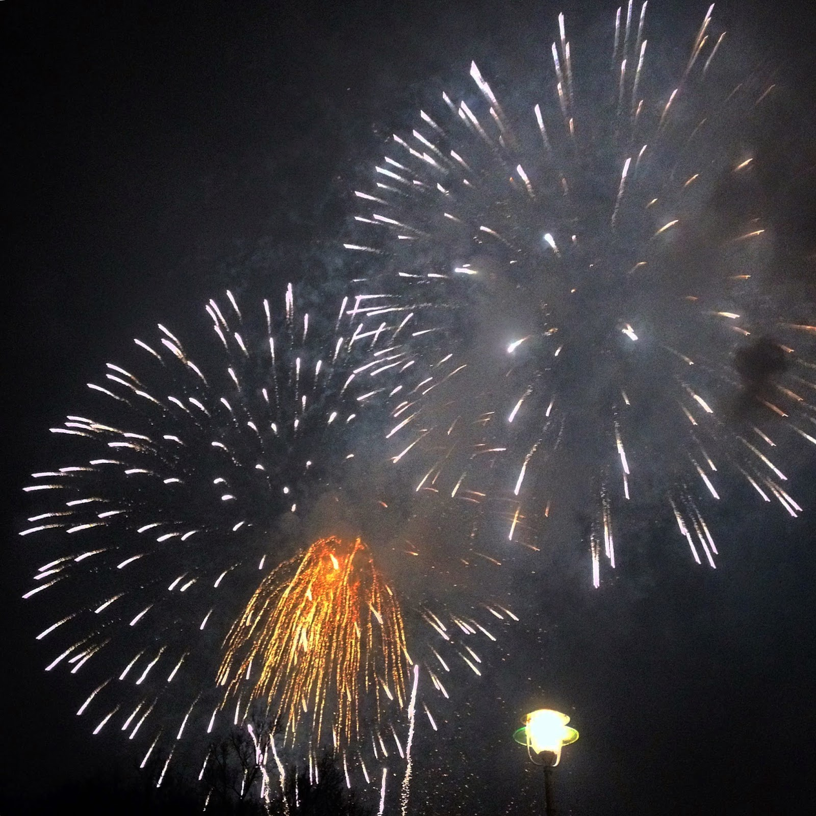 2015 New Year's Eve (Silvester) Fireworks in Belin