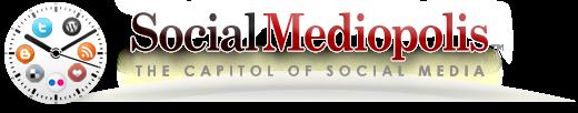 Social Mediopolis - The Capitol of Social Media Header Logo by www.maxginez3.com