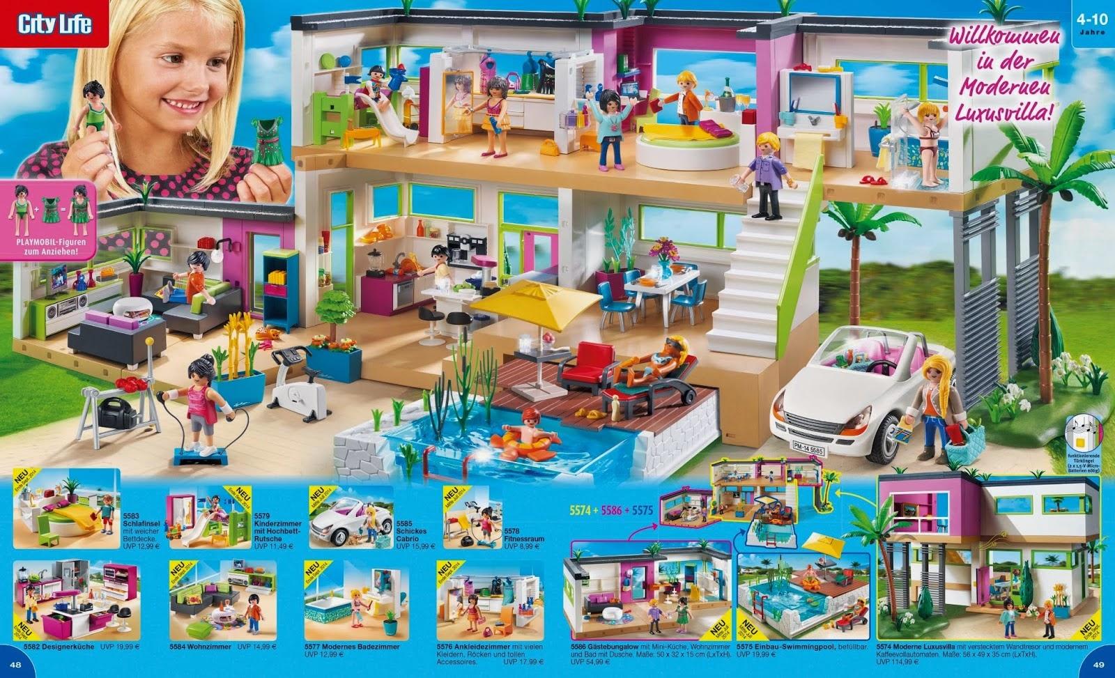 K juguete playmobil 2015 como siempre espectacular for Playmobil casa de lujo