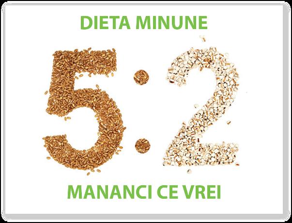 Ce presupune dieta 5:2?