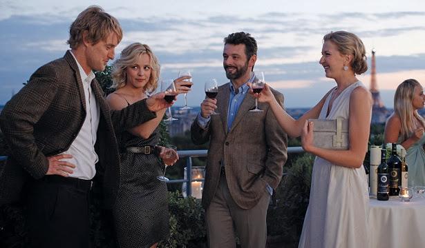 Pariste Gece Yarısı filmi , Gil, Inez, Paul, Carol, Rachel McAdams, Owen Wilson