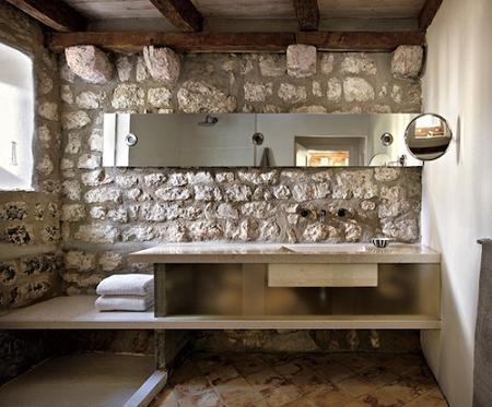 Neo arquitecturaymas: Ideas para baños con estilo rústico. Lavabos ...