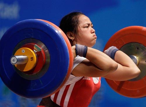 Pinay Weightlifter Hidilyn Diaz