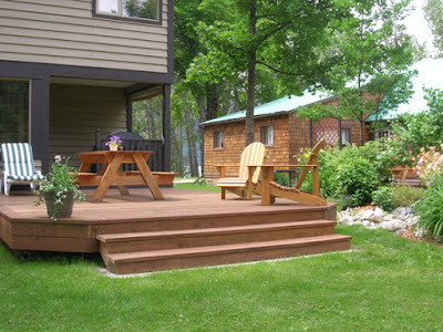 Backyard Deck Designs Layouts