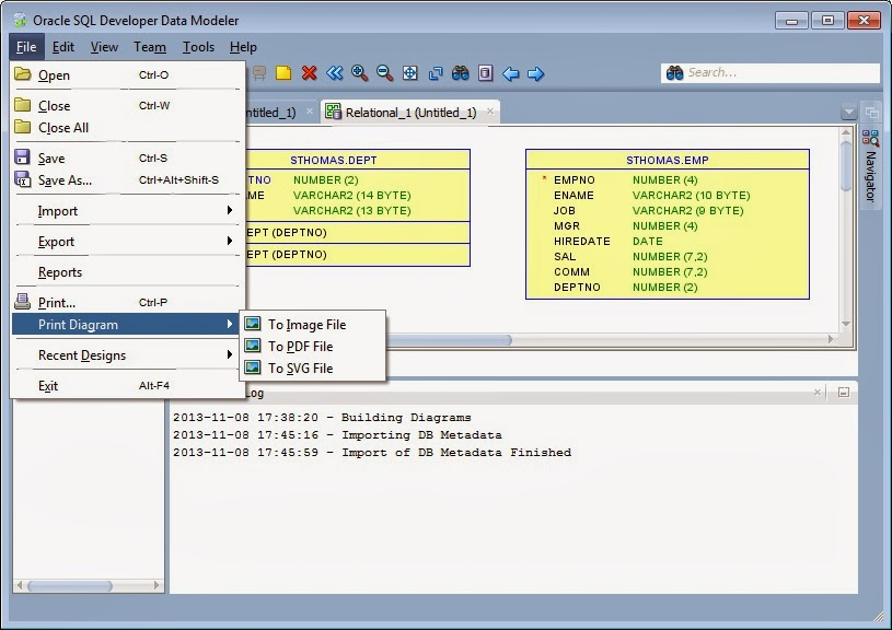 Create jpg png pdf oracle database schema er table relationship create jpg png pdf oracle database schema er table relationship diagram using data modeler ccuart Images