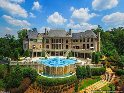 Inside Tyler Perry's $25m Mansion
