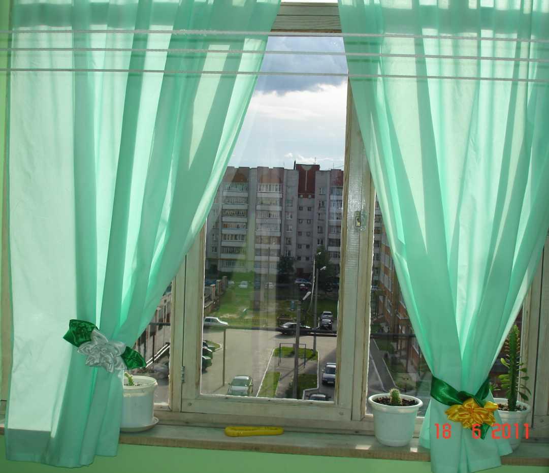 Шторы на балкон без балконного окна.