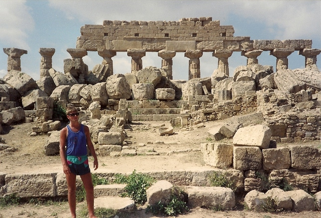 Temple of Hera, Selinunte, 1989