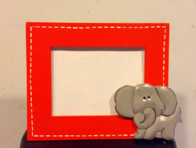 PORTARETRATO Elefante