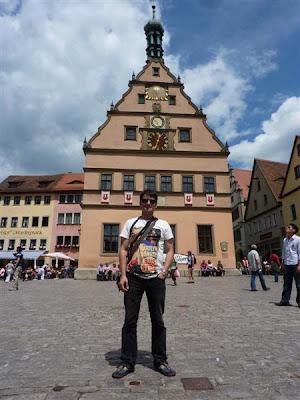 Torre del Reloj en Rothenburg ob der Tauber