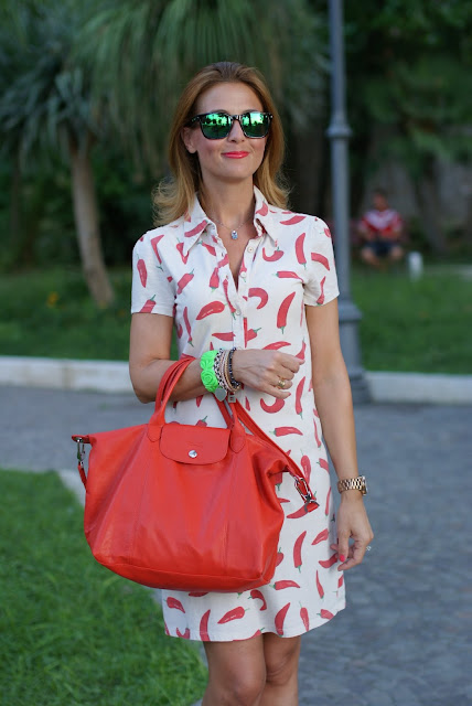 red hot chili peppers dress, summer outfit, Oakley mirror sunglasses, Fashion and Cookies