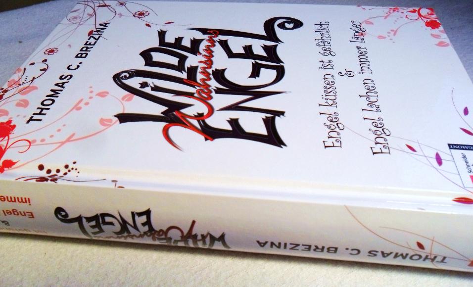 """Cover vom Buch """"Wilde Wahnsinnsengel"""" von Thomas C. Brezina"""