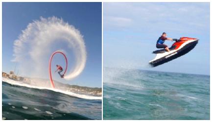 Ibiza Jetski, Flyboard