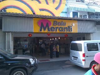 Toko Bolu Gulung Meranti, Medan