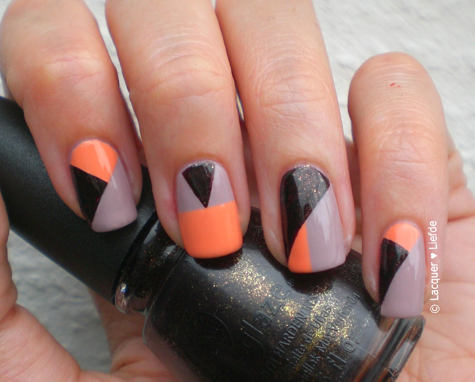 China Glaze Midtown Magic with Kiko 359 and P2 Business Women