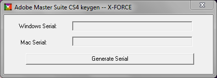 cs4 keygen xforce from