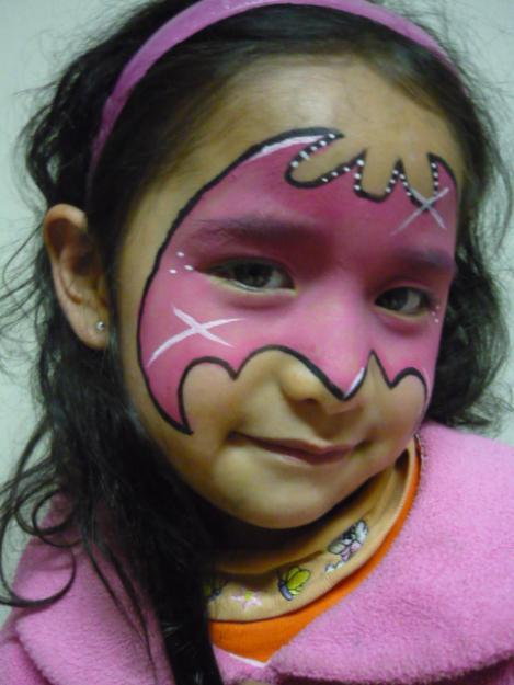 Fotos de caras pintadas de niños - Imagui